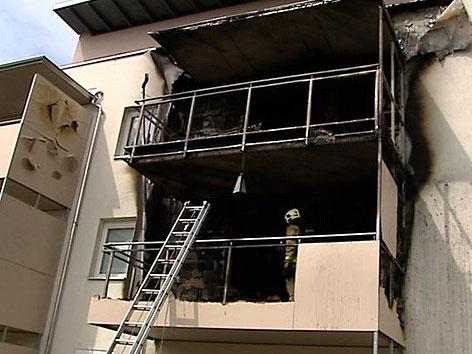 Wohnungsbrand St. Peter
