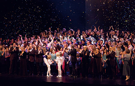 Finale beim der Eröffnung des Linzer Musiktheaters