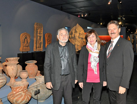 Eröffnung des Hauses der Völker mit Chesi, Palfrader und Lintner