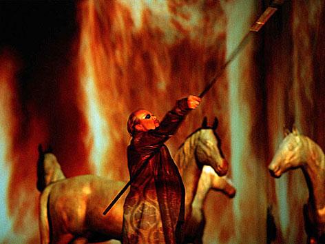 """Juha Uusitalo (Wotan) in """"Die Walküre"""", 2007"""