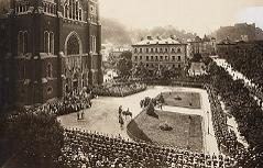 Erster Weltkrieg Gedenkjahr 2014 Feldmesse der Infanterie in Salzburg-St. Andrä