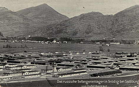 Erster Weltkrieg Gedenkjahr 2014 Kriegsgefangenenlager Grödig