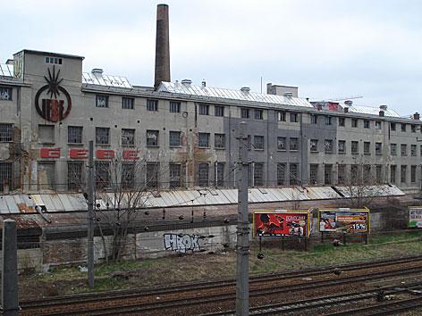 Die Gebe-Fabrik in Wien-Penzing