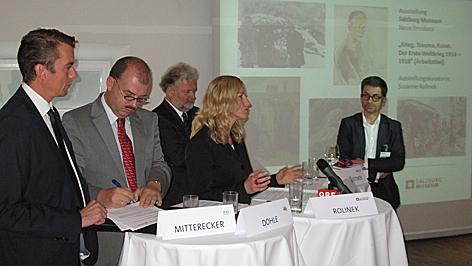 Erster Weltkrieg Gedenkjahr 2014 Ausstellungs- und Buchteam team Salzburg Museum