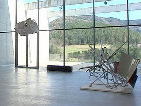 Skulpturen Museum Liaunig innen