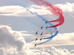 Formationsflug der Patrouille de France