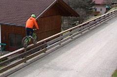 Osttiroler Fahrrad-Akrobat Fabio Wibmer