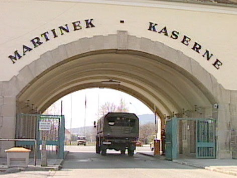 Martinek-Kaserne in Baden