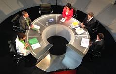 Pressestunde Landtagswahl Wahlen Politiker Elefantenrunde