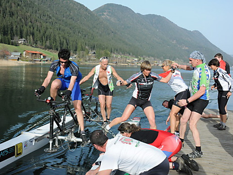 Team Trieste Waterbike