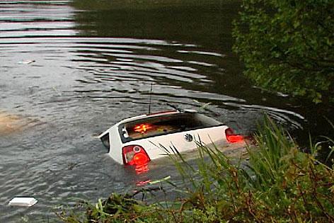 Auto Teich Halleger Teiche Klagenfurt Wölfnitz