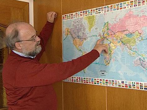 Theo Kelz Weltreise