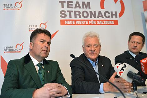 Mayr Stronach Team Wahl Naderer