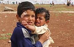 Nachbar in Not Syrien Flüchtlinge Flüchtlingskinder Asylwerber Asylanten Asylsuchende