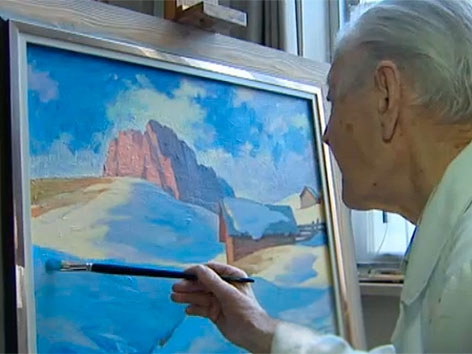 Maler Peter Brandstätter