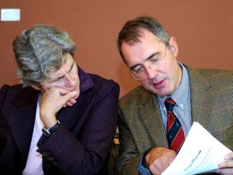 Barbara Rosenkranz und Ewald Stadler