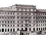 """Ausstellungssujet unter Verwendung des Fotos,""""Heinrichhof, 1861-1863"""