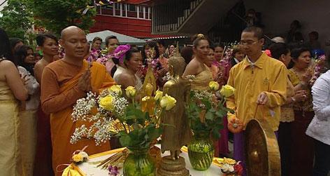Buddhistische Feier