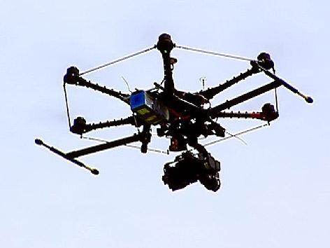 zivile Drohne Flugobjekt