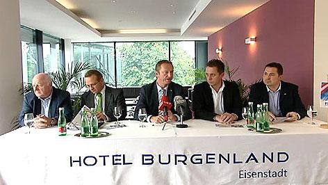 FPÖ Burgenland präsentiert neues Team