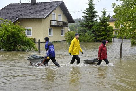 Hochwasser in Oberösterreich