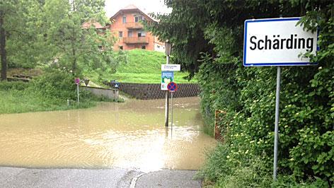 Hochwasser in Schärding