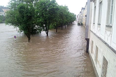 Hochwasser in Steyr