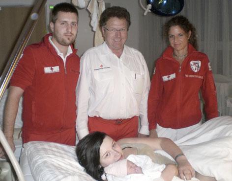 Geburt im Rettungswagen