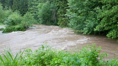 Hochwasser im Mühlviertel