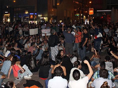 Türkei-Protest: Spontane Demo in Wien