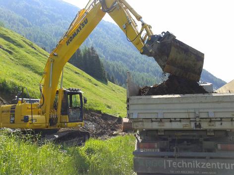 Baustart Felbertauern-Ersatzstraße