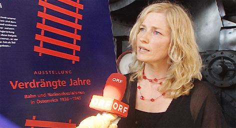 Verdrängte Jahre ÖBB Zeitgeschichte Widerstand Hitler Eisenbahner Widerstandskämpfer Susanne Rolinek