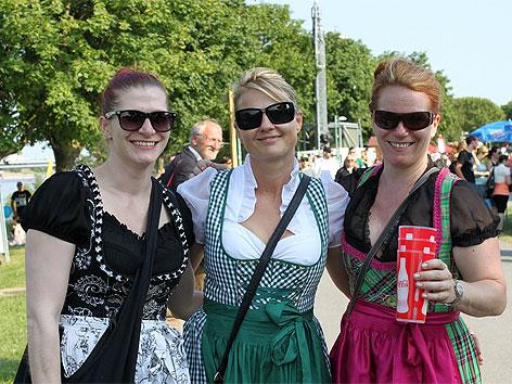 Besucher am Donauinselfest 2013