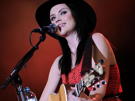 Amy Macdonald während eines Konzertes am Freitag, 21. Juni 2013 auf der Wiener Donauinsel