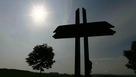Papstkreuz in Trausdorf