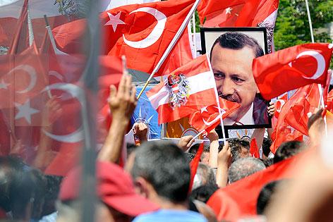 demo pro Erdogan