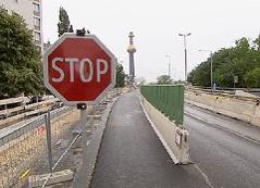Baustelle Gürtelbrücke