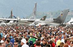 Flugzeuge auf der Airpower 2013