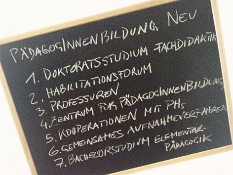 Die sieben Eckpunkte der künftigen Lehrerausbildung an der Uni Graz