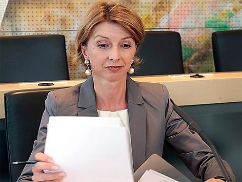 LH-Stellvertreterin Gabriele Schaunig (SPÖ) als Zeuge im Rahmen einer Sitzung des Seenkauf-Untersuchungsausschusses