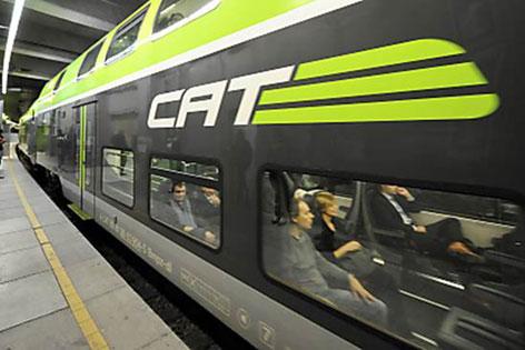 Zug in Station