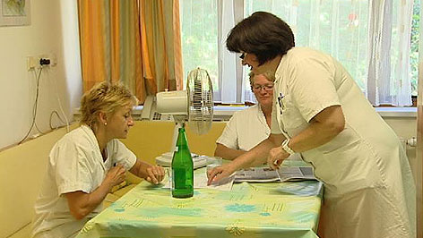 Krankenschwestern im Spital Oberpullendorf