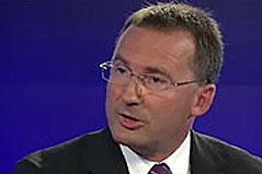 Polizeipräsident Gerhard Pürstl in einem ZiB 2-Interview
