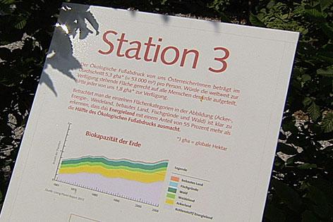 Ökologischer Fußabdruck im ORF Landesstudio Salzburg