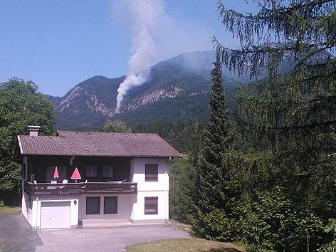Waldbrand Windische Höhe
