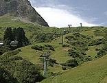 Hochtannberg grüne Piste Sommer