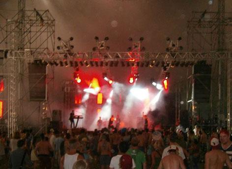 Coffeeshock Company nastupa pri Sziget Festivalu