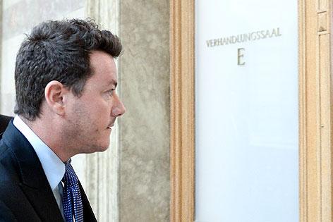 Rene Benko vor der Berufungsverhandlung am Oberlandesgericht Wien