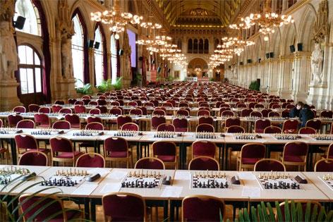 Festsaal Rathaus leer