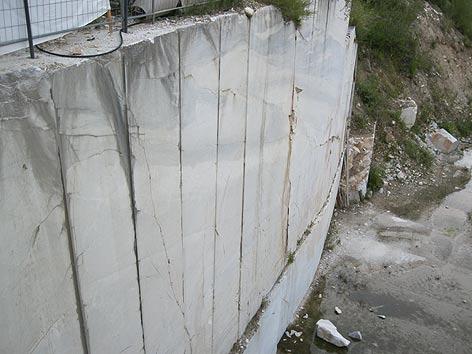 Steinbruch Lauster Krastal Marmor